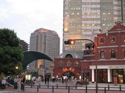 東京・恵比寿ガーデンプレイスの風景