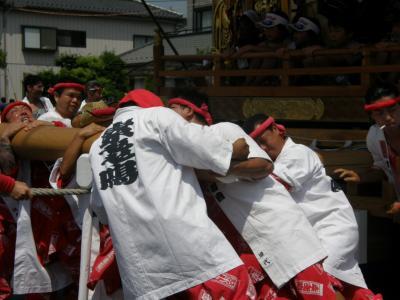 久喜市の提灯祭り「天王様」