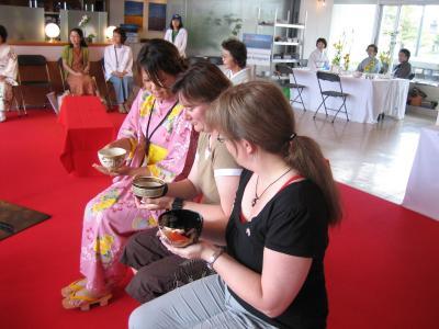 洞爺湖G8サミット 茶道ボランティア Toyako G8 Summit