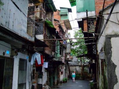 広州の旧市街。