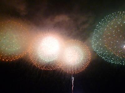 2008 ☆海の花火☆ ぎおん柏崎まつり 震災復興を祈って…