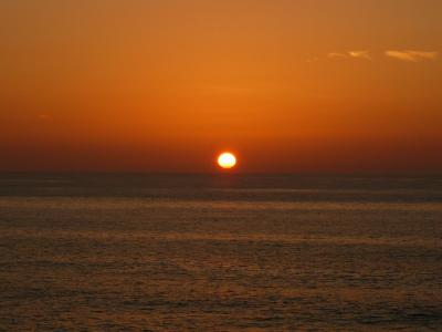 福井の滝紀行《番外編》◆越前海岸の落陽ショー