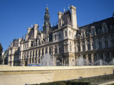 オテル・ド・ヴィル(パリ市庁舎) 文化遺産公開の日