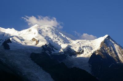 ヨーロッパ最高峰モンブランの麓シャモニー?【シャモニーから見るモンブランと街並み】