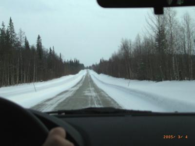 2005.2ストックホルム,フィンランド旅行4-ラヌアの休日3 オーロラを求めてKittilaまで