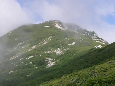 中央アルプス縦走・・・?空木岳から菅の台