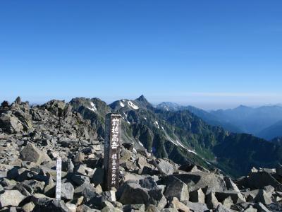 憧れの山を目指して 穂高岳小屋~上高地(3日目)