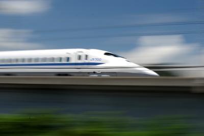 山陽新幹線を撮る