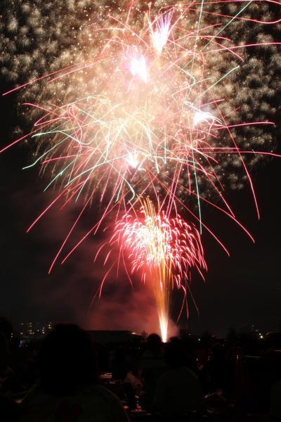 競馬場で花火をみよう♪さいたま市花火大会・浦和競馬場会場