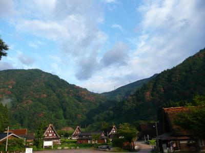 白川郷・五箇山の合掌造り集落(五箇山) in 2008