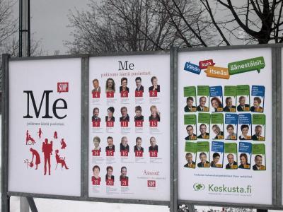 2007年2月旅行5 オウルでの総選挙