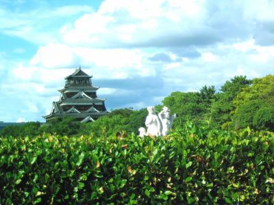 【敵地広島へ】 到着 ・ 広島城 ・ 原爆ドーム