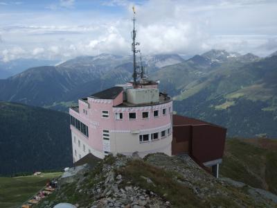 スイス・オーストリアでハイキングの旅【11】ヤコブスホルンからセルティックへハイキング