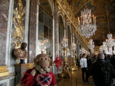 2008 義蔵・パリとモン サン ミシェルの旅~3日目(ヴェルサイユ宮殿とクレイジー・ホース)