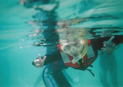 沖縄旅行2008 わくわくスノーケリングツアー