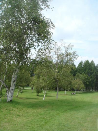 今年もやってきました高原ゴルフ蓼科・・・