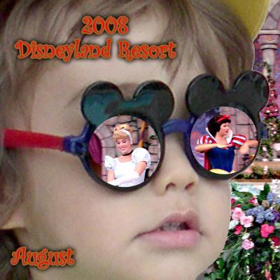 2008 Disneyland Resort August