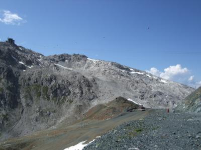 スイス・オーストリアでハイキングの旅【16】ヴァイスフルーヨッホ