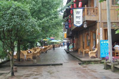 重慶と四川省 上里古鎮(四川省雅安市近辺)