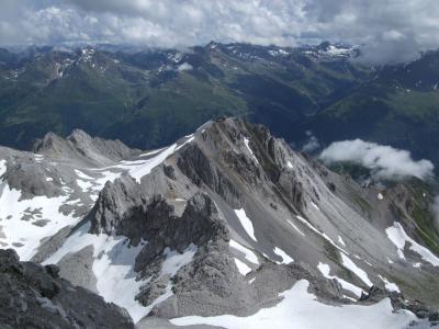 スイス・オーストリアでハイキングの旅【20】ザンクト・アントン:ヴァルーガ展望台
