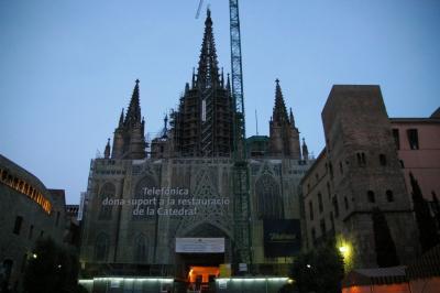 世界一周出張旅行?−2バルセロナ散策