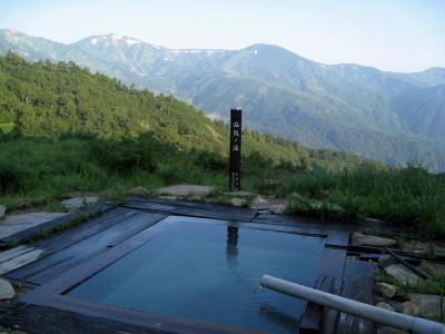 山奥の秘湯/蓮華温泉