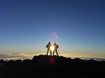 ハワイマウイ島 ハレアカラ山頂サンライズツアー