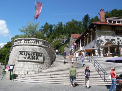旧ユーゴスラビア&オーストリア旅行(5) スロベニア(ポストイナ鍾乳洞&リュブリャーナ)