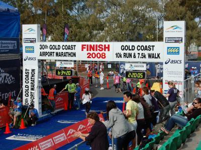 3年ぶり2度目の出場!ゴールドコーストマラソン2008