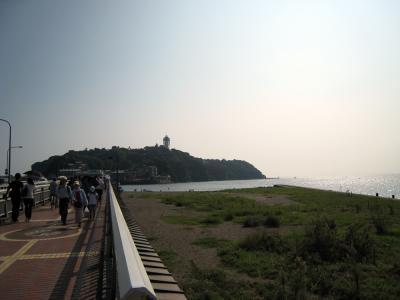 のんびりと江ノ島へ