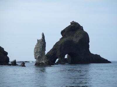 地球の島めぐり55島目ー韓国 鬱稜島・独島