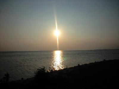 長浜~琵琶湖のサンセット♪~