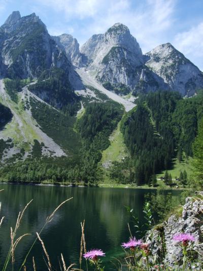 スイス・オーストリアでハイキングの旅【46】ゴーザウゼー湖畔を一周