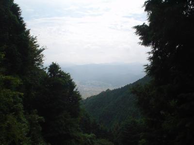 紀伊山中脱出サイクリング1: 往路