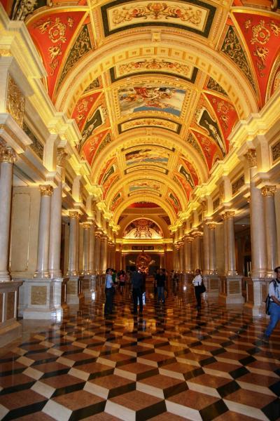 ポルトガル統治時代の面影~Macau 【ヴェネチアンマカオ館内編】