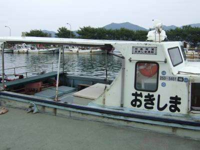 琵琶湖クルーズ 浜大津・沖島・竹生島