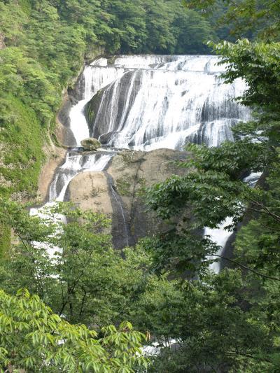 2008/9 袋田の滝 新観瀑台完成