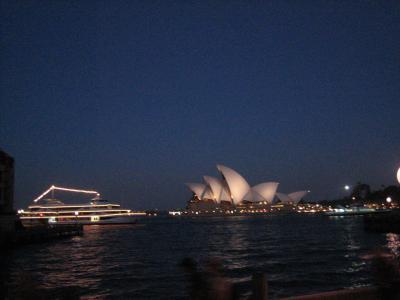 仕事だけど初めてのシドニー