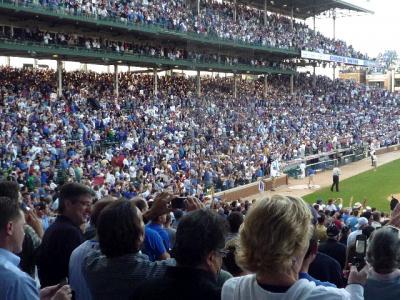ちょっとおかしい、シカゴのカブス人気