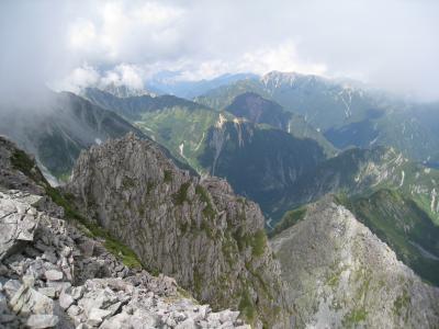 長野県・上高地から登る奥穂高岳