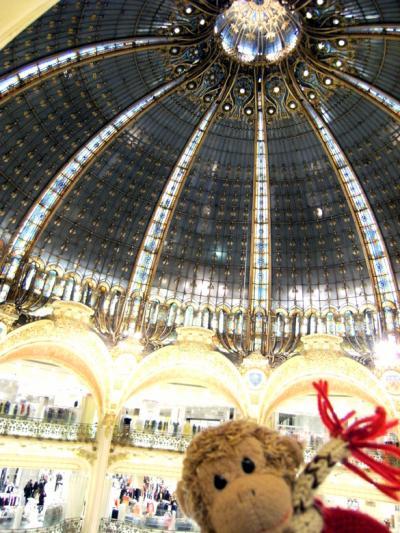 2008 義蔵・パリとモン サン ミシェルの旅~7日目その2(パリの街を散策しまくり)8日目(帰国・その長い道程)