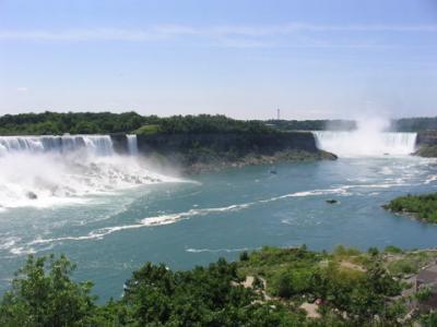 Niagara Falls,USA,CANADA   (under construction)