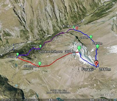 2008年のスイスハイキング旅行(11)
