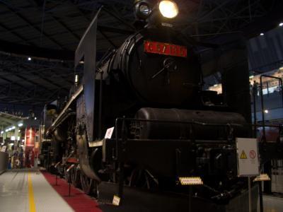 大人気の「鉄道博物館」!息子と二人旅。