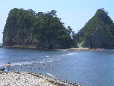 西伊豆の瀬浜で起こる不思議な現象
