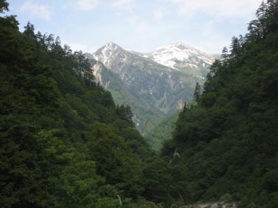 初めて黒部峡谷を歩く   Kurobe kyokoku, Toyama pref. Japan
