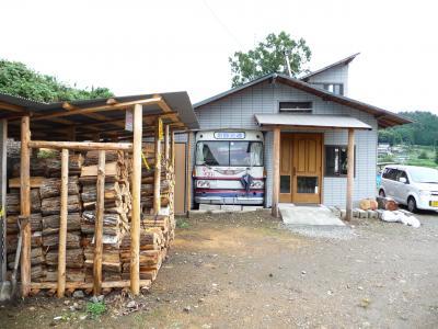 34京丹波町秘密基地 秘密基地 薪小屋増設