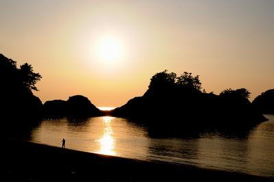 夏の終わりの海を見に行く  【西伊豆:堂ヶ島・松崎】