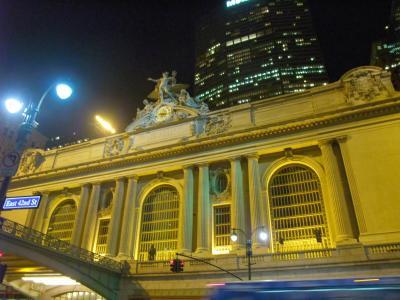ニューヨーク 2008秋 夜のグランド・セントラル・ステーション