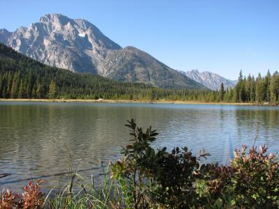 ワイオミング州の国立公園を歩く(05) Grand Teton N.P.:String Lake Trails ~2008年夏休み~
